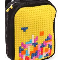diy pixel art backpack