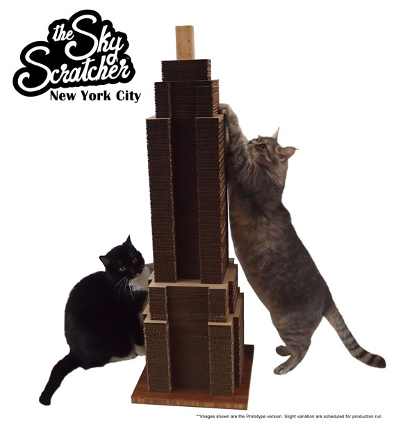 empire state building scratcher Pinboard
