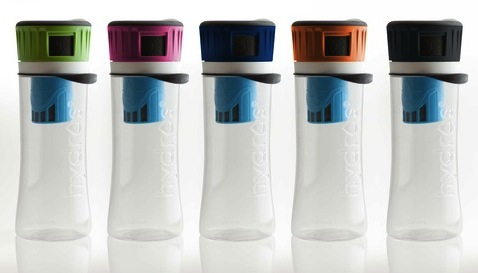 Hydros Side-Filling Filtering Water Bottle