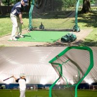 multi sport ball return net