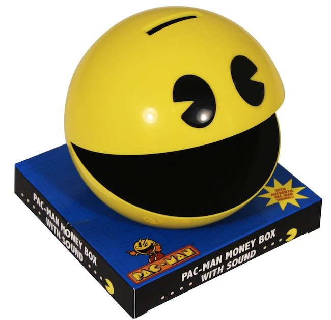 Pac-Man Bank with Sound