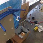 Rube Goldberg Machine Lights a Hanukkah Menorah