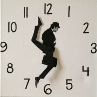 silly walks clock
