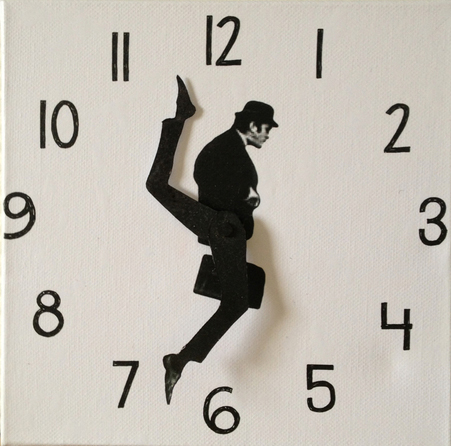 silly walks clock Pinboard