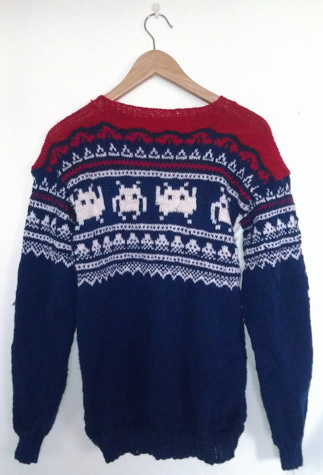 space invaders sweater Space Invaders Sweater