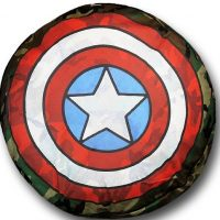 captain america dog bed