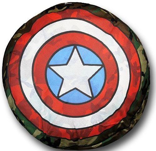 Captain America Shield Dog Bed