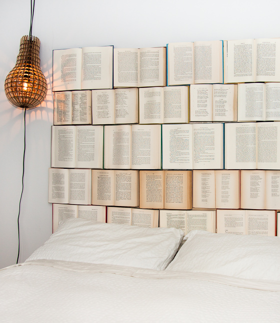diy book headboard Pinboard