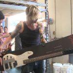 Playable Fender Bass Snowboard for Duff McKagan