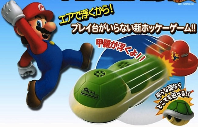 Super Mario Bros. Koopa Troopa Shell Air Hockey Puck