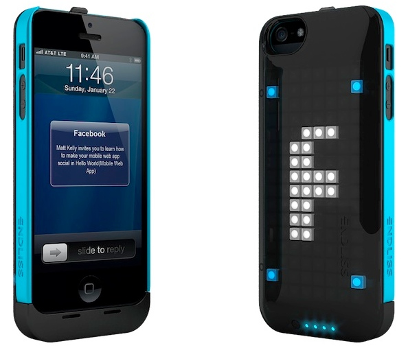 iPhone Case with LED Notification Display