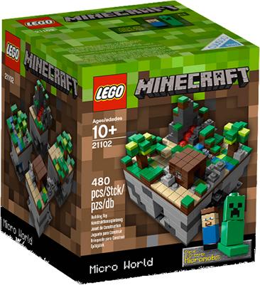 lego minecraft box LEGO Minecraft