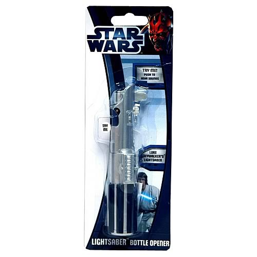 Star Wars Lightsaber Talking Bottle Opener