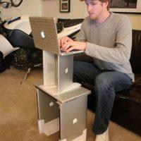 macbook computer desk