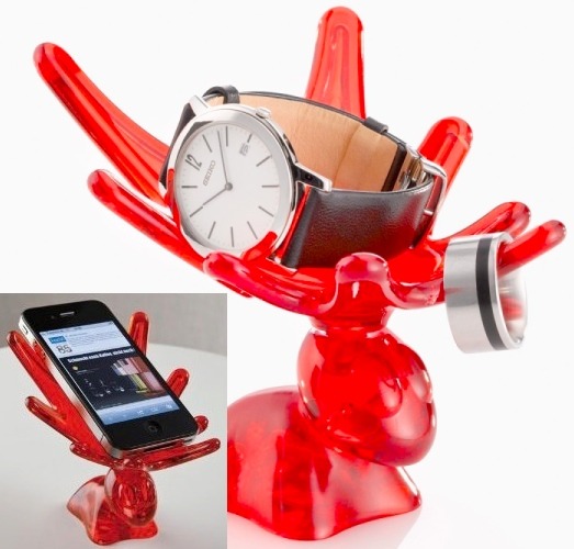 Rocky Organizer is a Moose Antler Cell Phone Holder
