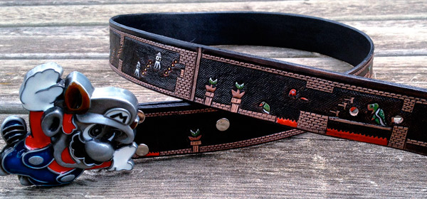super mario level belt Pinboard