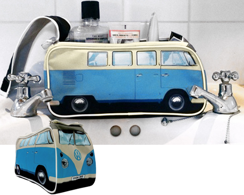 VW Camper Bus Toiletries Bag