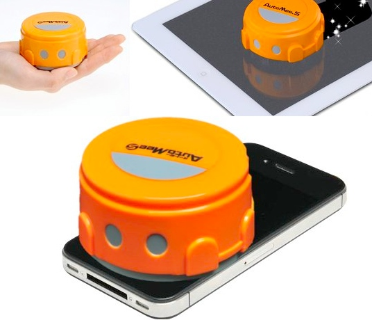 auto mee robot screen cleaner Tiny iPhone/iPad Screen Cleaning Robot