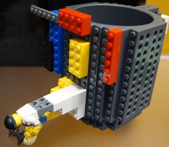Lego Build-On Brick Mug