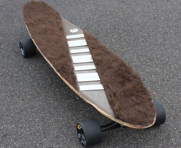 Chewbacca Skateboard