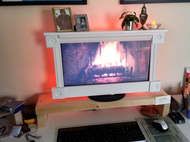 desktop fireplace Desktop Fireplace