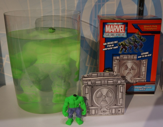 Marvel Science Transforming Hulk