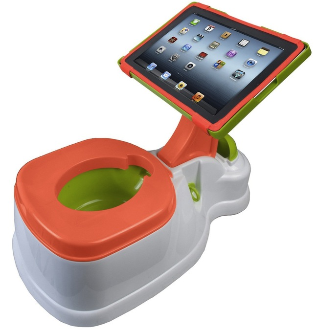 ipotty iPotty: iPad Holding Potty Seat