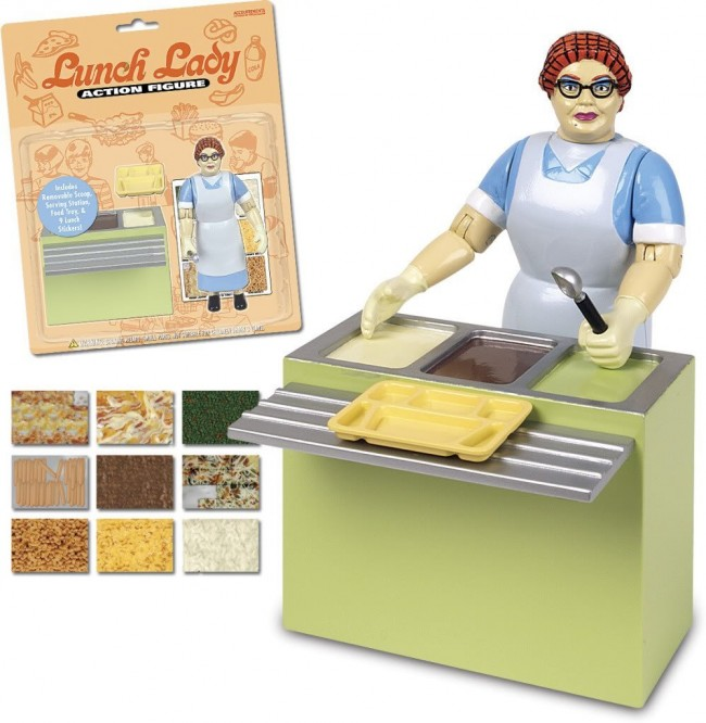 lunch lady action figure 650x666 Lunch Lady Action Figure