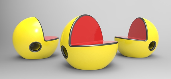 pac man chair Pac Man Chairs