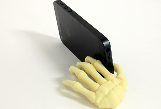 skeleton phone stand Creepy Skeleton Hand Phone Stand