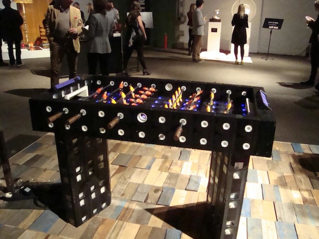 VHS Tape Foosball Table