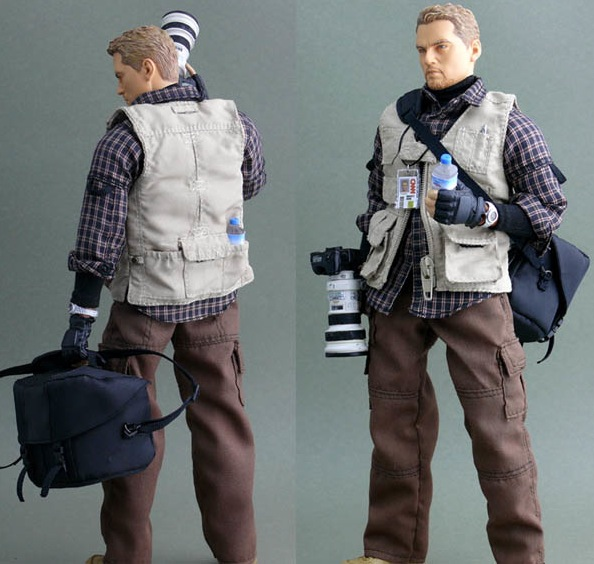Warzone Photojournalist Action Figure
