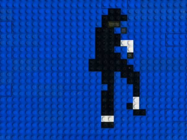 Animated Lego Michael Jackson Dance Moves