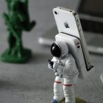 Astronaut and Soldier Smartphone Stands