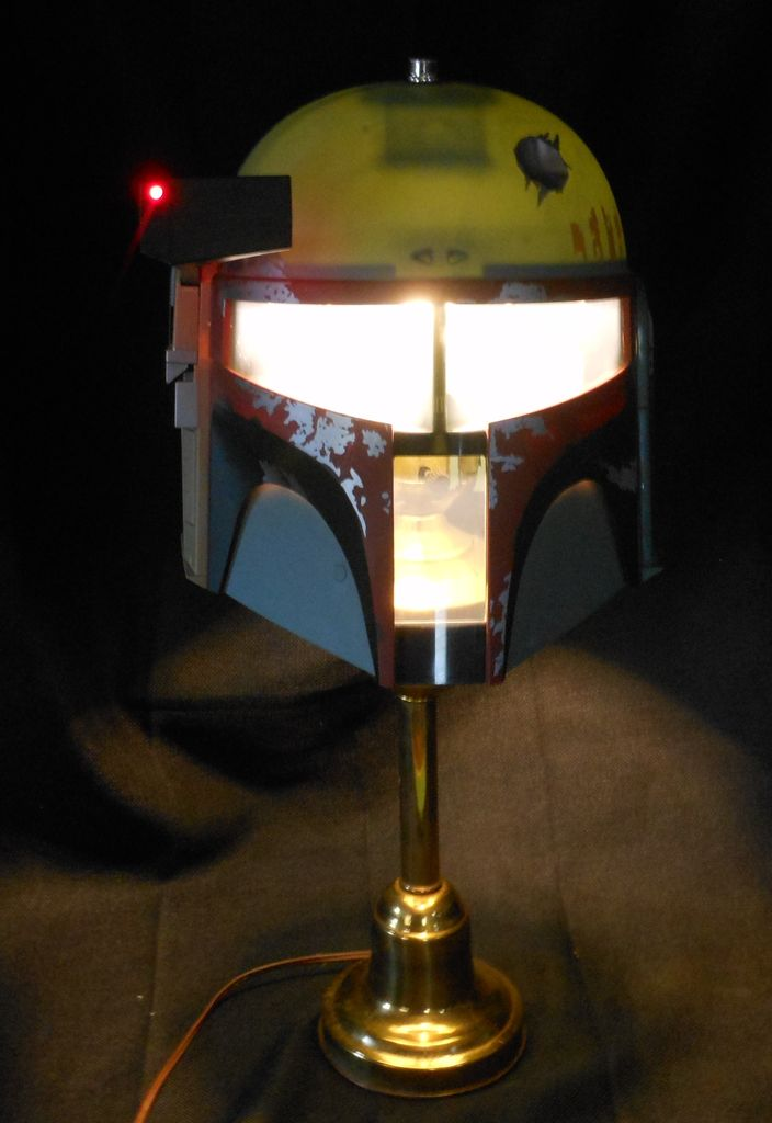 DIY Boba Fett Lamp