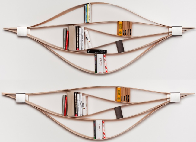 Chuck Flexible Bookshelves | Craziest Gadgets