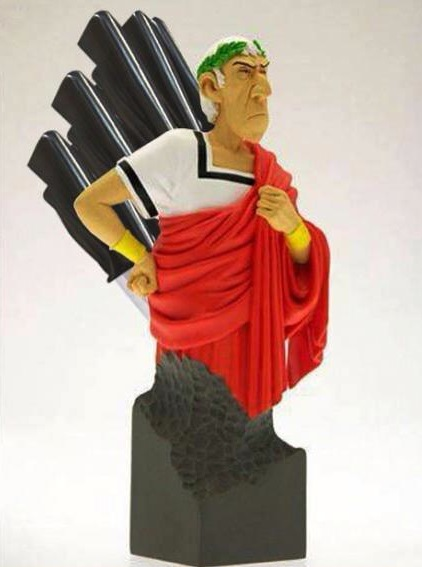 Julius Caesar Knife Block: Beware the Knives of March