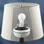 Invisible Speaker Hides Under Lampshades