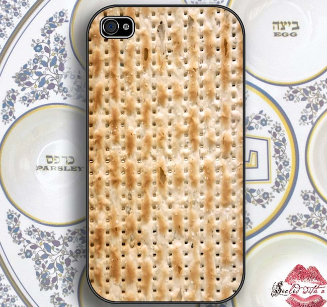 Matzah iPhone Case is Unleavened