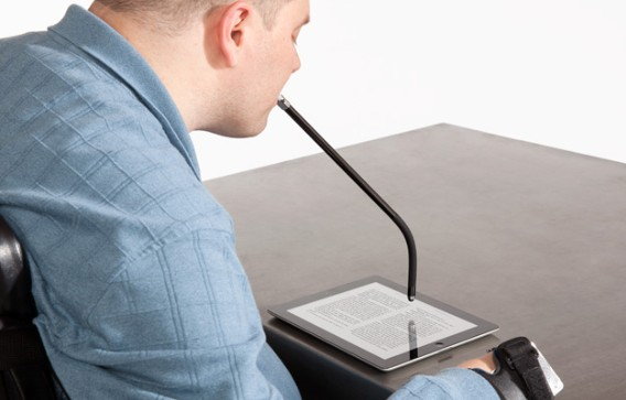 Griffin MouthStick Stylus Makes Tablets Accessible