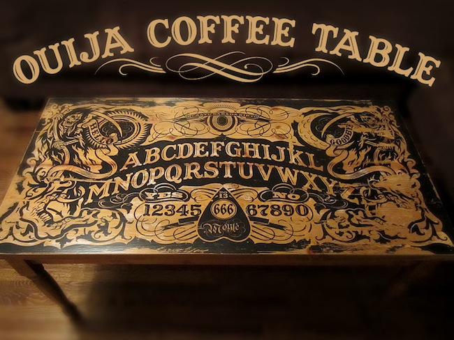 ouija board coffee table Pinboard
