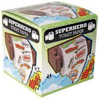 superhero toilet paper