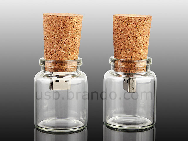 Message in a Bottle: USB Bottle Drive