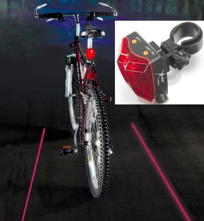 virtual safety lane Cyclists Virtual Safety Lane Projector Light