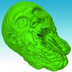 Walking Dead Zombie Jello Mold