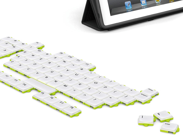 Puzzle Keyboard Concept Lets You Arrange It