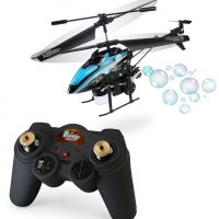 bubble blowing copter