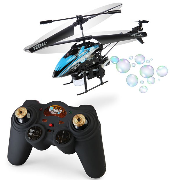 R/C Bubble Blowing Helicopter