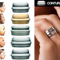 Wear Someone's Face with Face Profile Rings