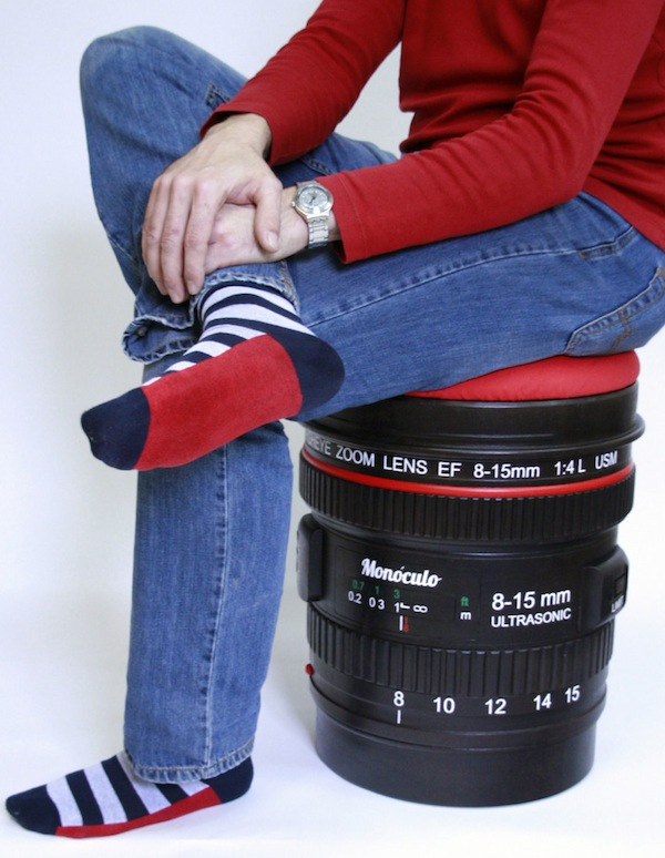 Camera Lens Stool